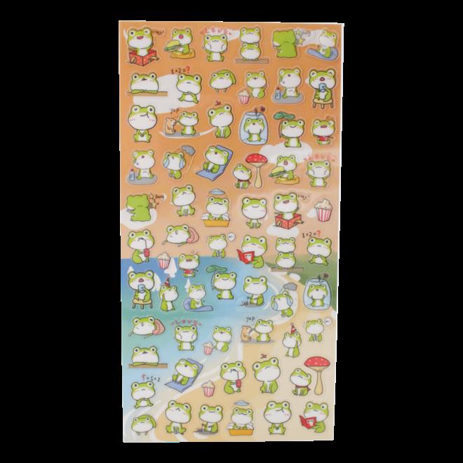 Frogs Nekoni Stickers