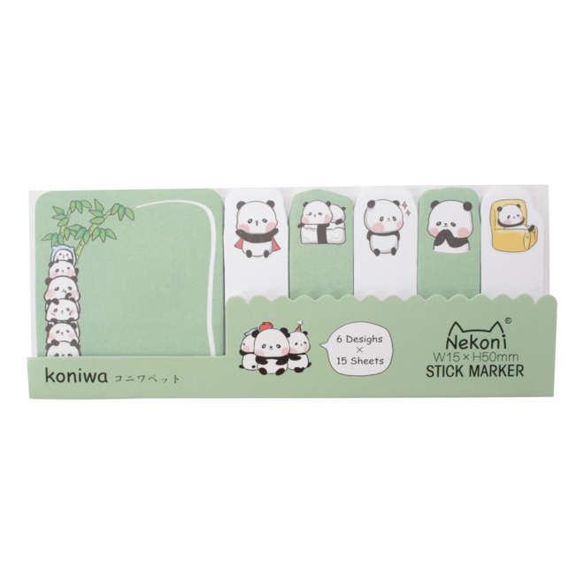 Cute animal sticky notes C