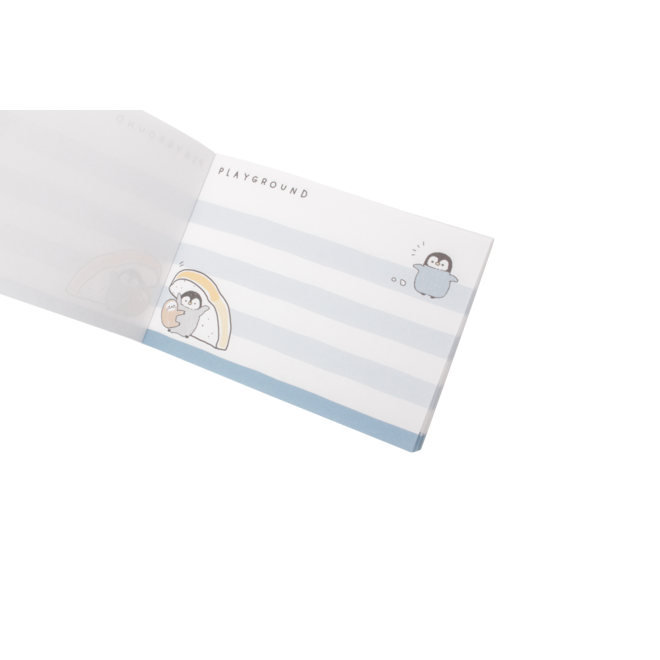 Penguin Bread Mini Notepad Crux
