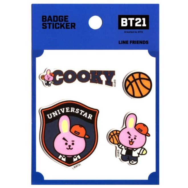 BT21 Badge Sticker - COOKY