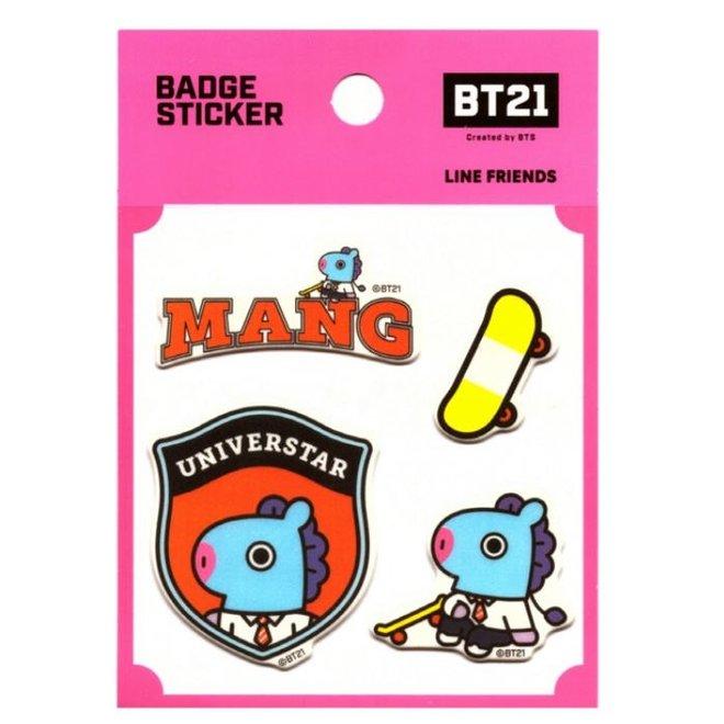 BT21 Badge Sticker - MANG