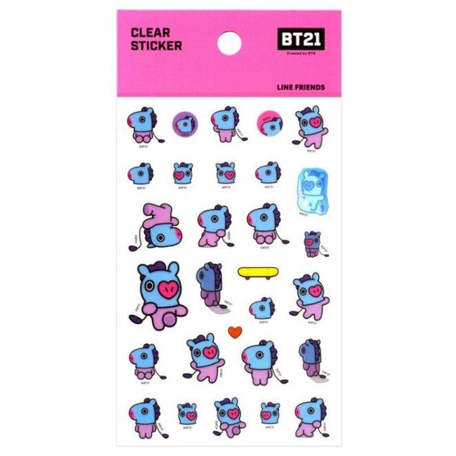 BT21 Clear Sticker - MANG
