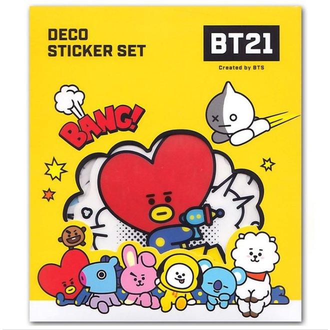 BT21 Deco Sticker Set - Comic Pop