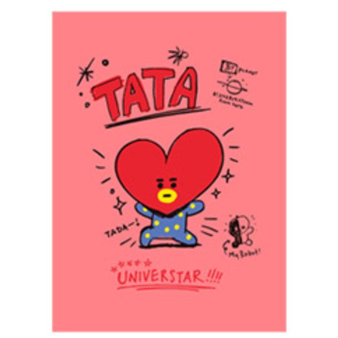 BT21 Notepad - TATA