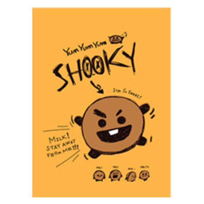 BT21 Notepad - SHOOKY