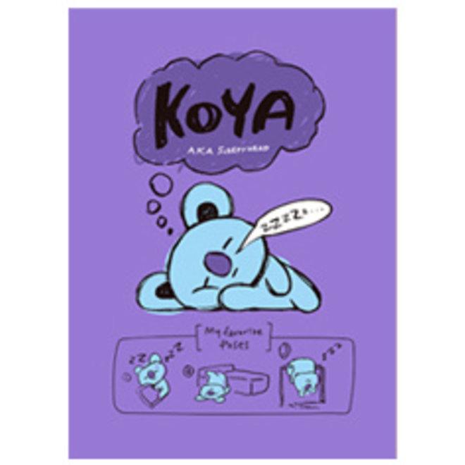 BT21 Notepad - KOYA