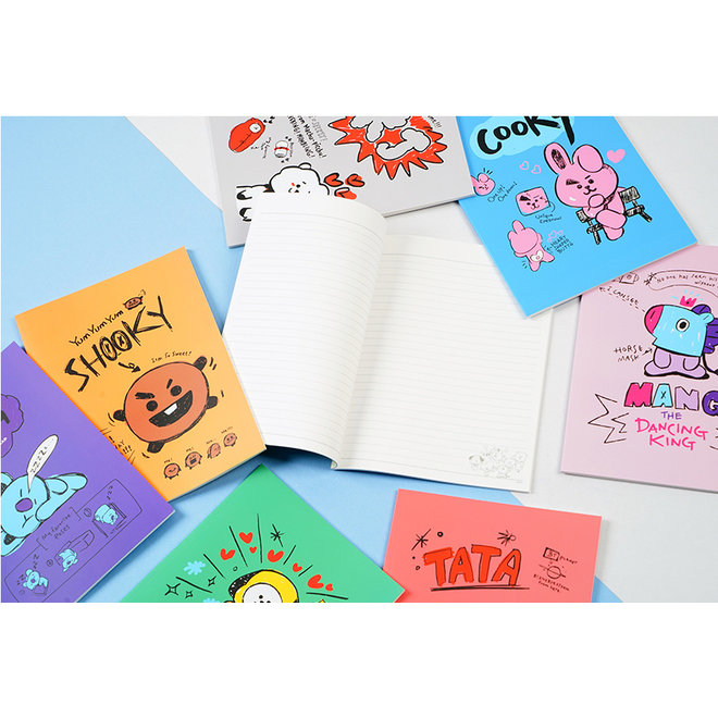 BT21 Notepad - CHIMMY