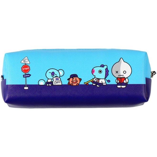 BT21 Pencil Case - Blue