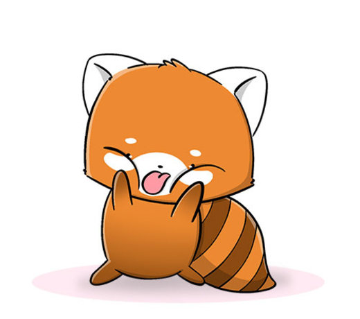 CutieSquad - Jacky (rode panda)