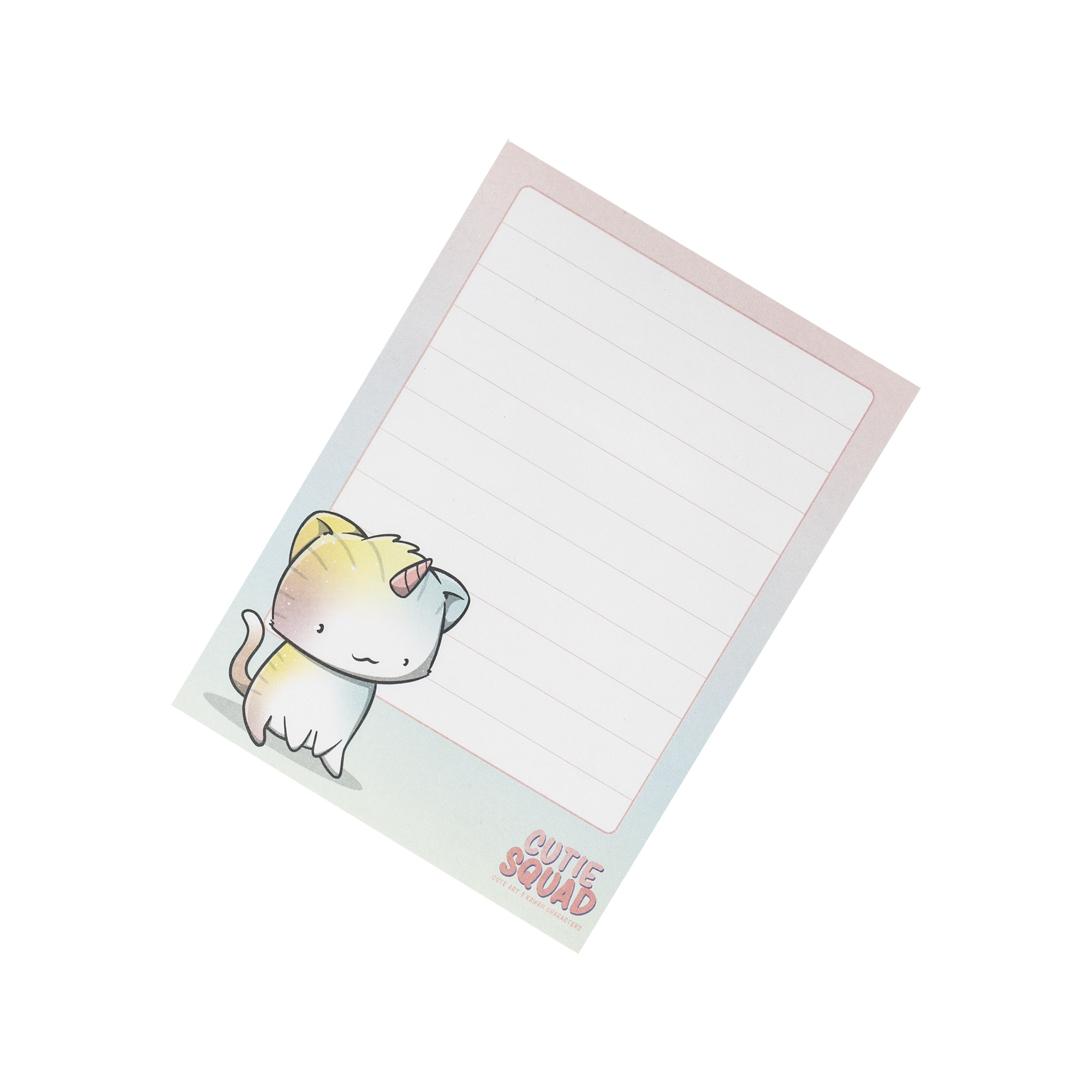 CutieSquad Sticky Notes - Unikitties Single