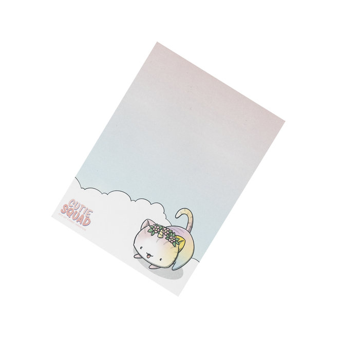 CutieSquad Sticky Notes - Unikitties Cloud