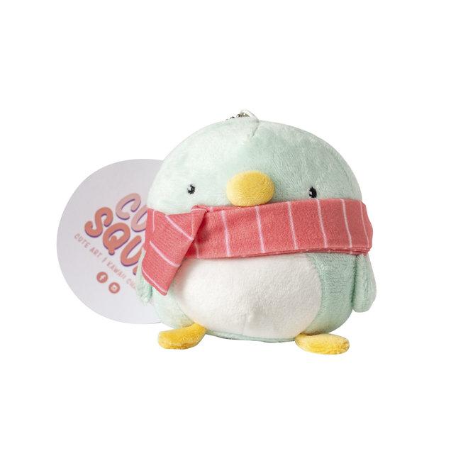 CutieSquad Pluche sleutelhanger - Kawaii Pinguin