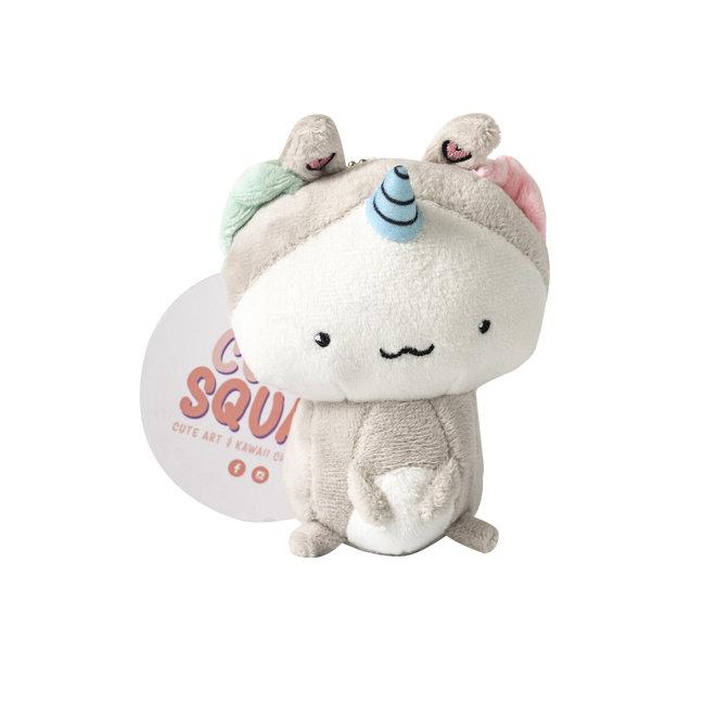 CutieSquad Pluche sleutelhanger - Unikitty Bunny