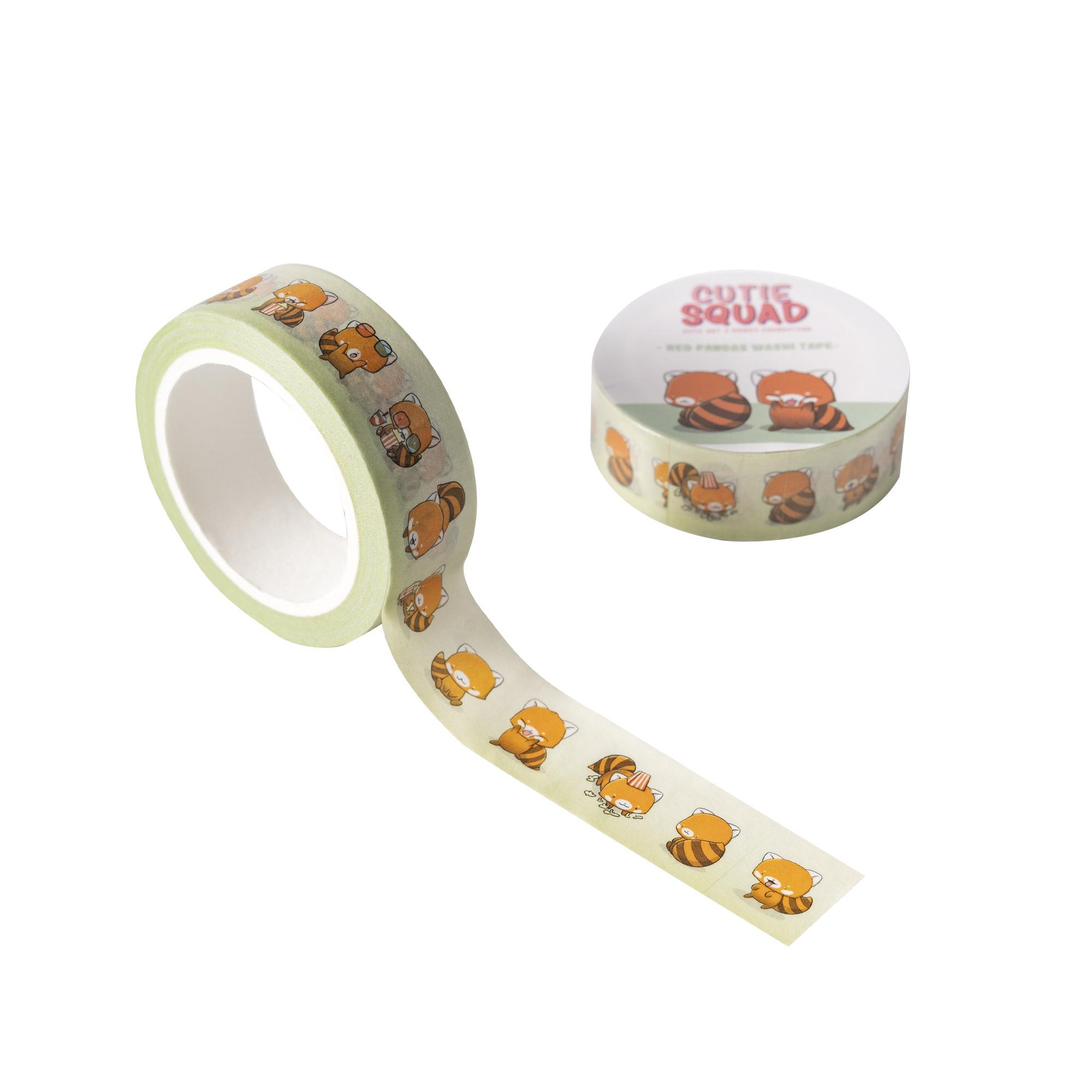 CutieSquad Washi Tape - Red Pandas