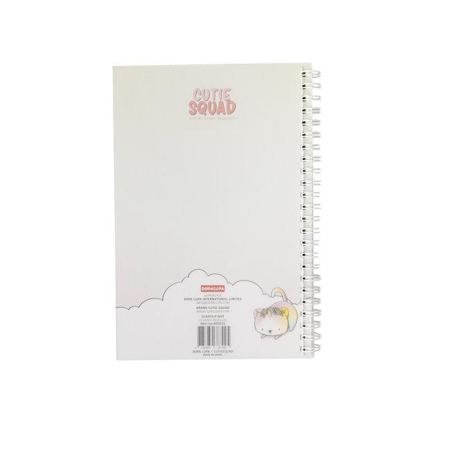 CutieSquad A5 Notebook - Unikitties