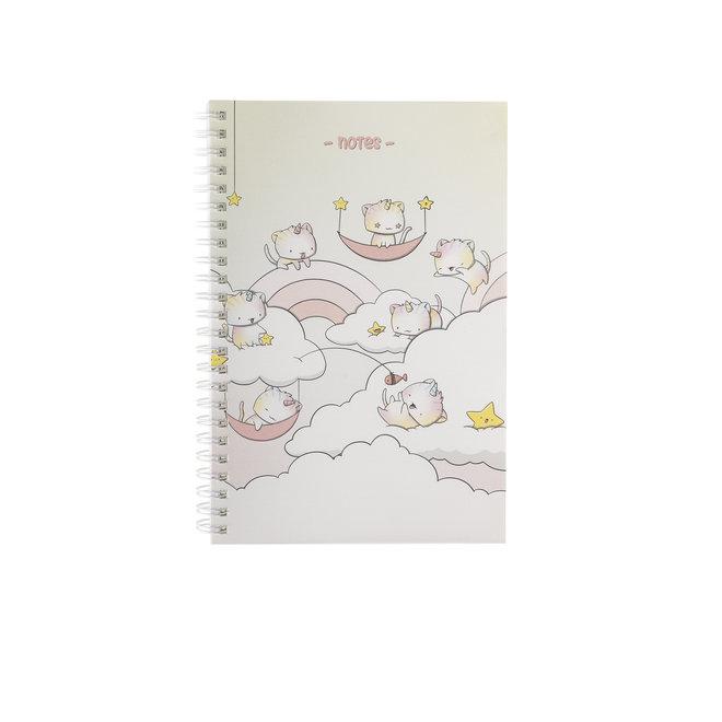 A5 Notebook - Unikitties