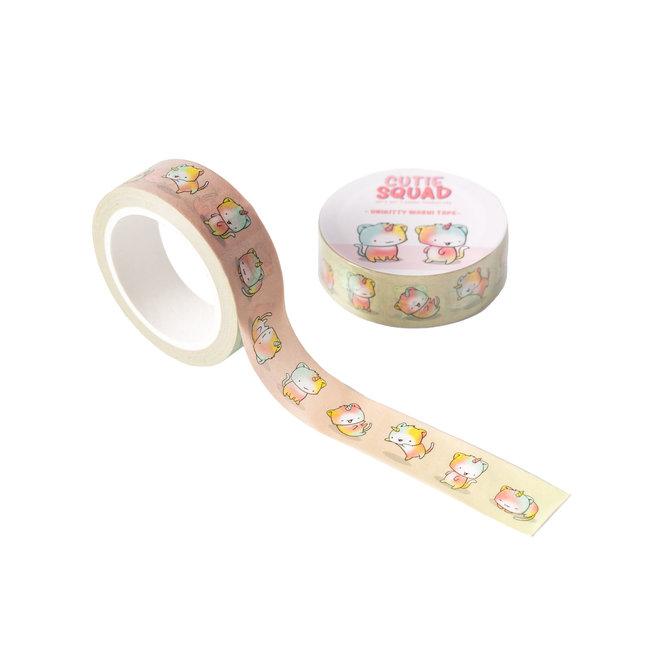 CutieSquad Washi Tape - Unikitties