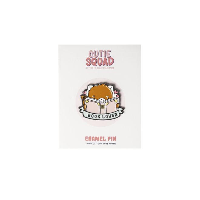 CutieSquad Enamel Pin - Book Lover