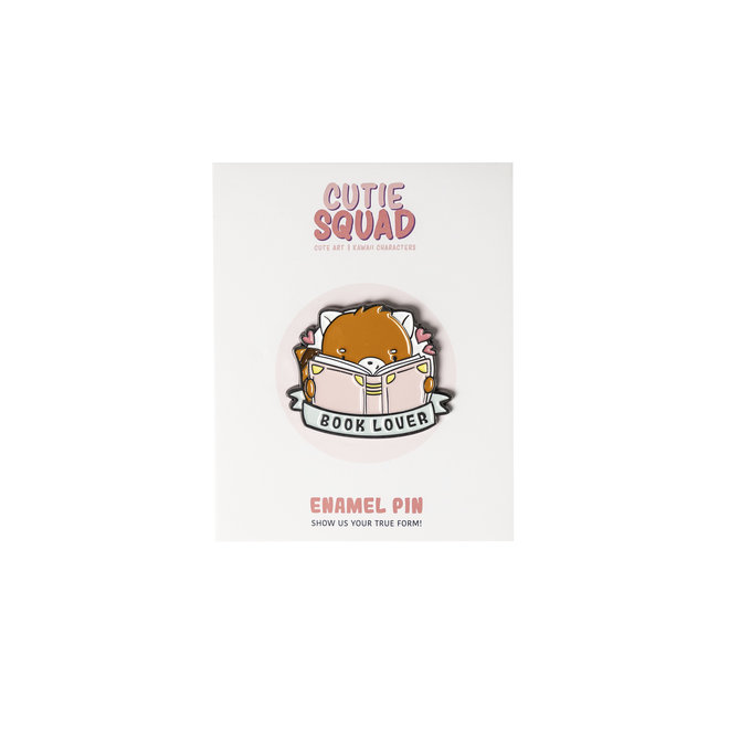 CutieSquad Pin - Book Lover