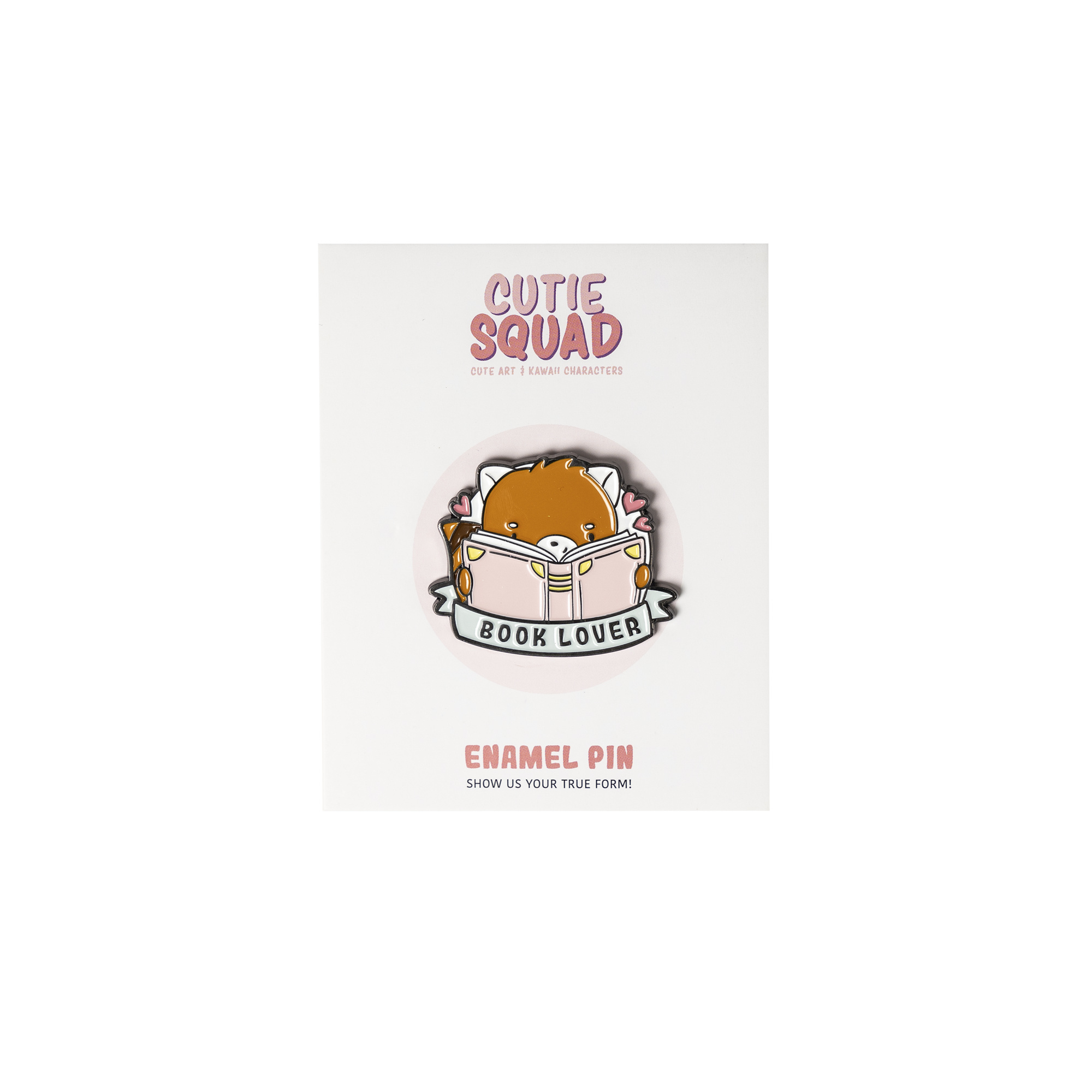 CutieSquad Pin - Book Lover