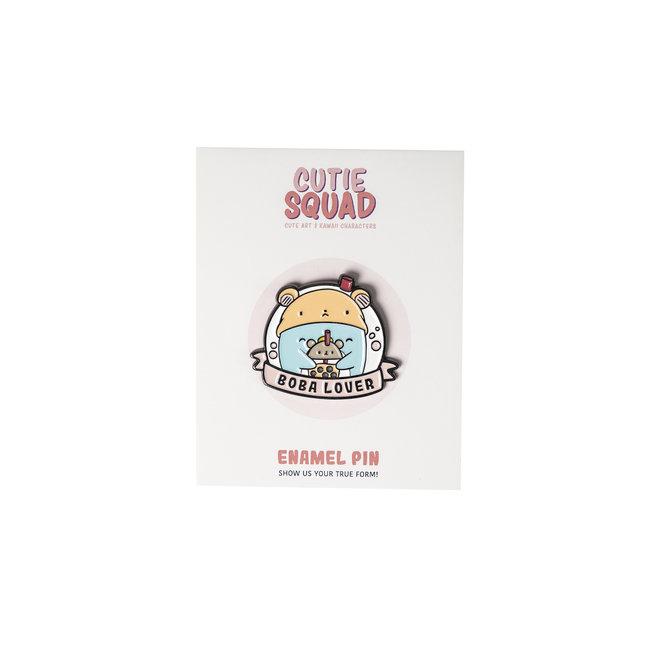 CutieSquad Enamel Pin - Boba Lover