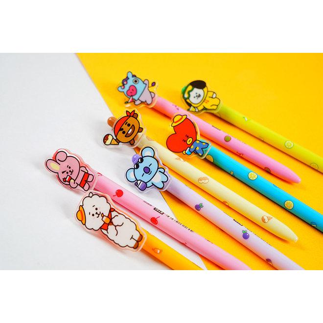 BT21 Acrylic Ball Pen - CHIMMY