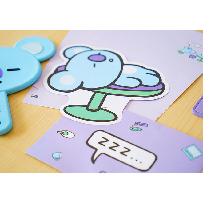 BT21 Letter Set including envelopes and stickers  - TATA