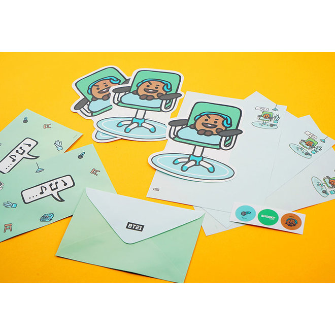 BT21 Letter Set including envelopes and stickers  - CHIMMY