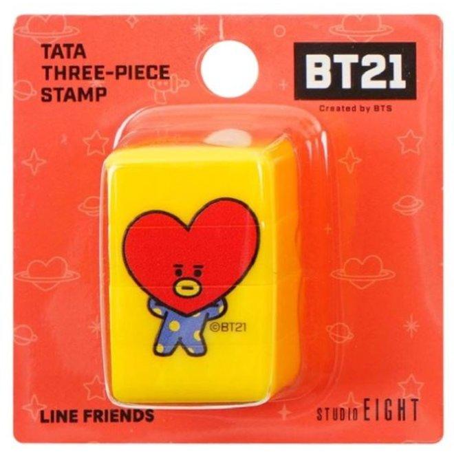 BT21 Driedelige stempel - TATA