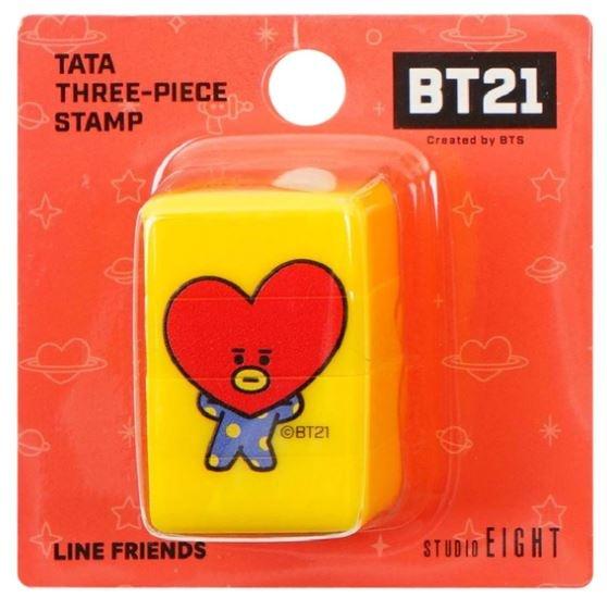 BT21 BT21 Driedelige stempel - TATA