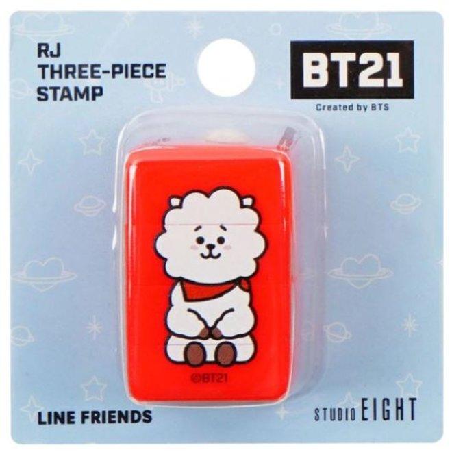 BT21 Three-piece stamp - RJ
