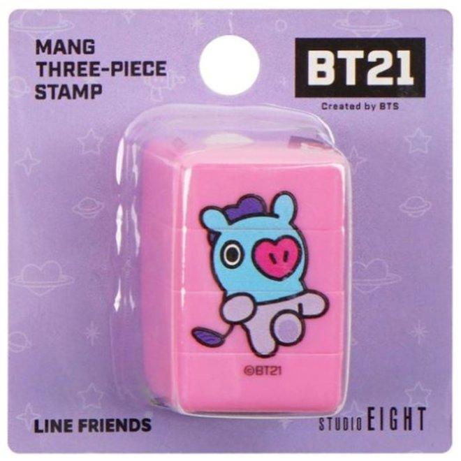 BT21 Three-piece stamp - MANG