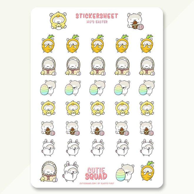 Stickervel - Mo's Easter (LIMITED!)