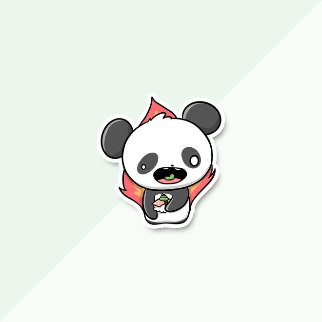 CutieSquad Stickerset - Sushi Pandas (LIMITED!)