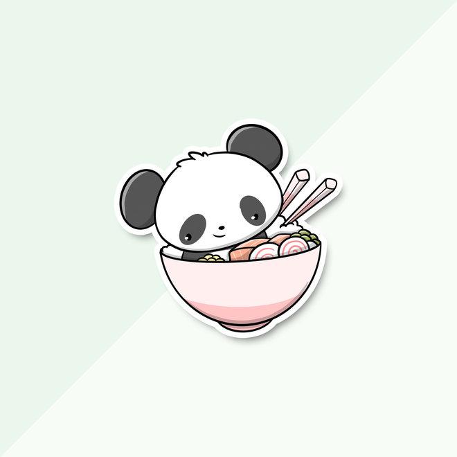 CutieSquad Sticker set - Sushi Pandas (LIMITED!)