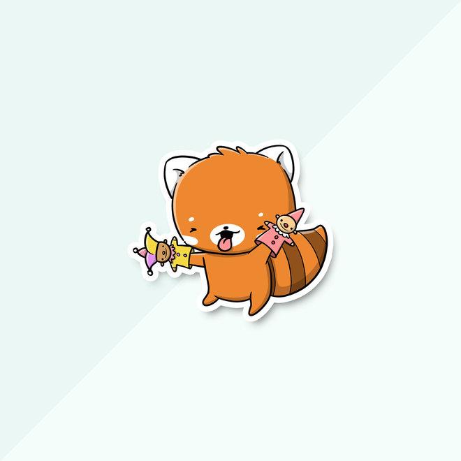 CutieSquad Sticker set - April Pandas (LIMITED!)