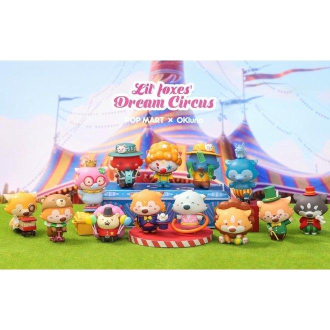 POP MART  Lil Foxes Dream Circus Series 1