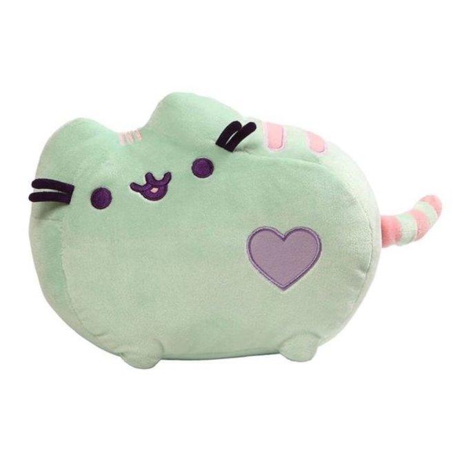 Pusheen knuffel - Pastel Groen