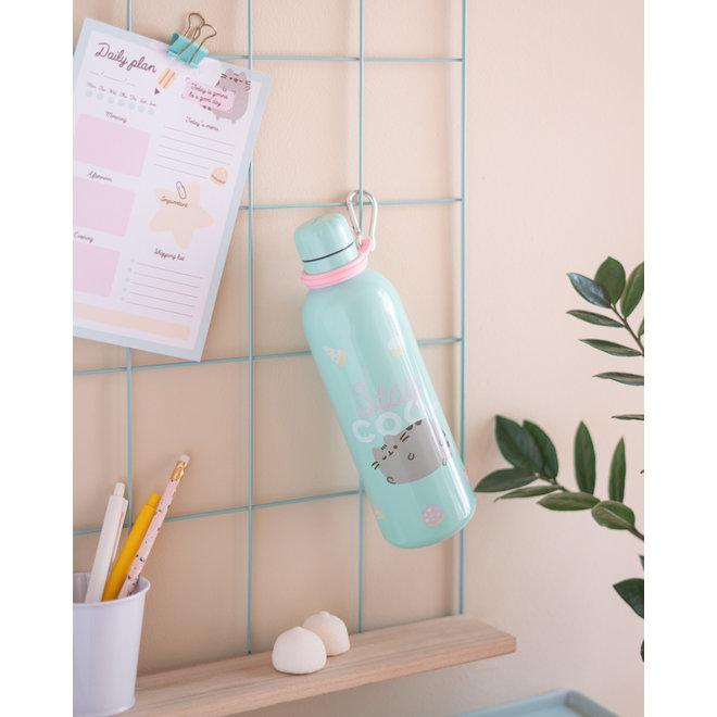 Pusheen metallic bottle - Stay Cool