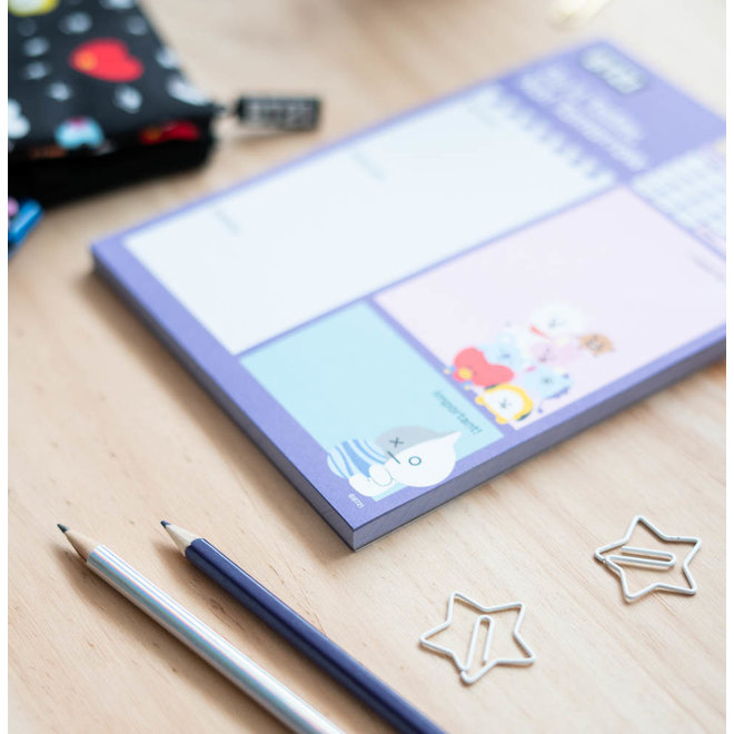 BT21 To-do notepad