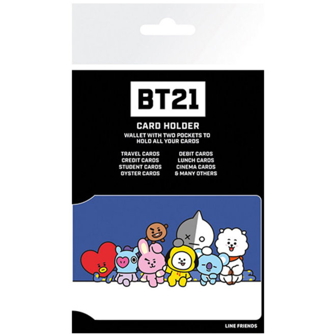 BT21 pashouder - alle characters