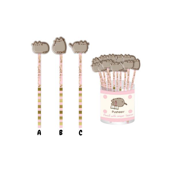 Pusheen potlood met gum - Sweet and Simple