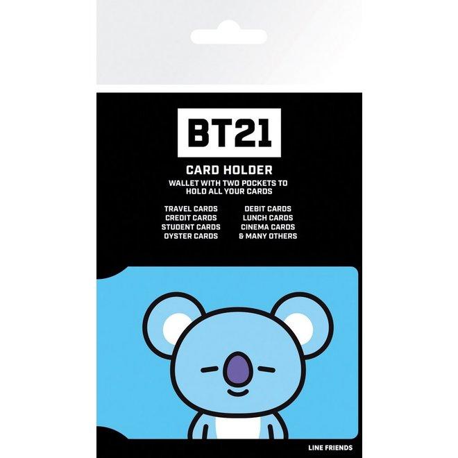 BT21 card holder - KOYA