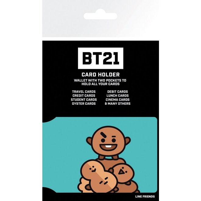 BT21 card holder - SHOOKY