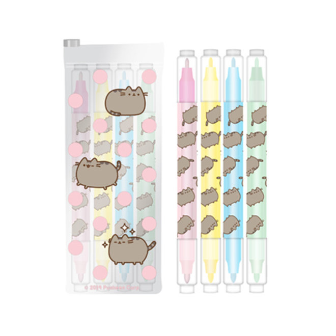 Pusheen highlighters set - Sweet and simple