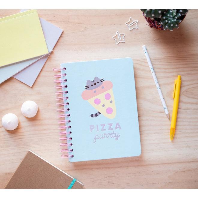 Pusheen hardcover bullet journal - Pizza purrty