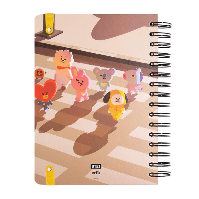 BT21 hardcover bullet journal