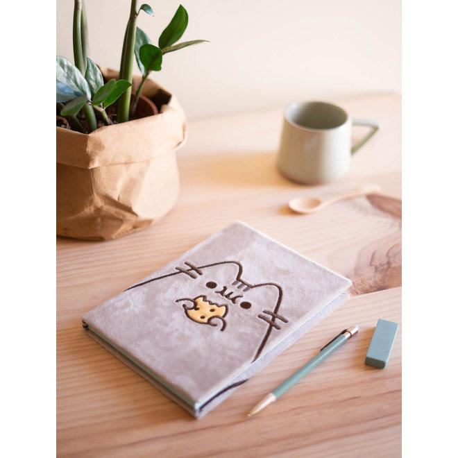 Pusheen A5 plush notebook
