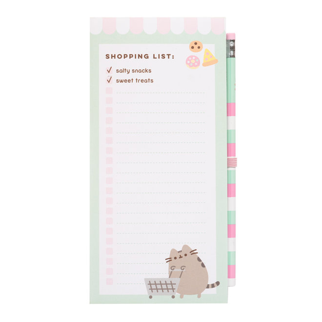 Pusheen Shopping List - Foodie Collection