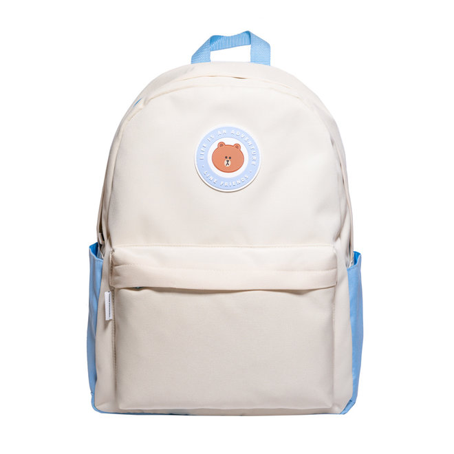 Line Friends backpack - Life is an adventure